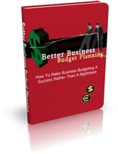 Better Business Budget Planning ebook by Anonymous