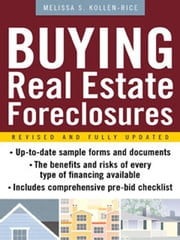 Buying Real Estate Foreclosures ebook by Kollen-Rice, Melissa