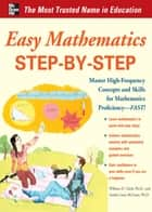 Easy Mathematics Step-by-Step ebook by Sandra Luna McCune, William D. Clark