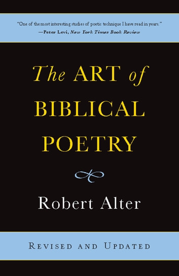 The Art of Biblical Poetry ebook by Robert Alter