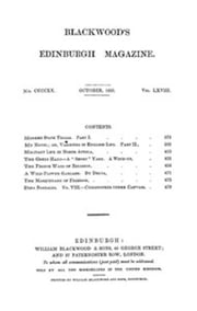 Blackwood's Edinburgh Magazine, Vol. 68, No 420, October 1850 ebook by Various