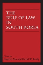 The Rule of Law in South Korea ebook by