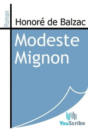 Modeste Mignon eBook by Honoré de Balzac