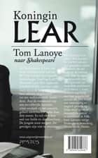 Koningin Lear ebook by Tom Lanoye