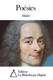 Poésies ebook by Voltaire