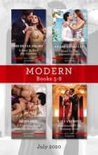 Modern Box Set 5-8 July 2020/A Baby to Bind His Innocent/Hired by the Impossible Greek/A Forbidden Night with the Housekeeper/Revelations of ebook by Heidi Rice, Michelle Smart, Clare Connelly,...