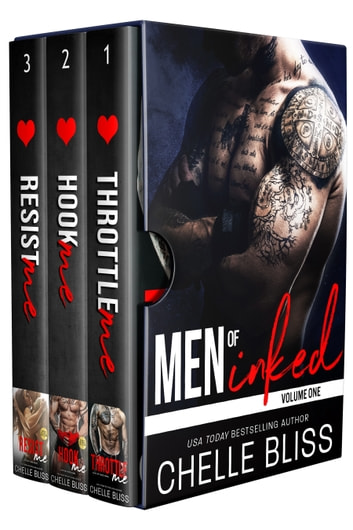 Men of Inked Books 1-3 - A Romantic Suspense Boxset ebook by Chelle Bliss
