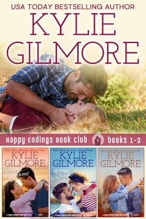 Happy Endings Book Club Boxed Set Books 1-3 ebook by Kylie Gilmore