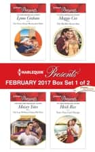 Harlequin Presents February 2017 - Box Set 1 of 2 - An Anthology ebook by Lynne Graham, Maisey Yates, Maggie Cox,...