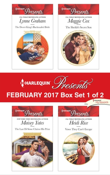 Harlequin Presents February 2017 - Box Set 1 of 2 - An Anthology 電子書 by Lynne Graham,Maisey Yates,Maggie Cox,Heidi Rice