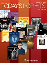 Today's Pop Hits - for Big-Note Piano ebook by Hal Leonard Corp.