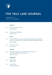 Yale Law Journal: Volume 124, Number 3 - December 2014 ebook by Yale Law Journal