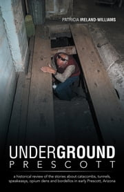 Underground Prescott - a historical review of the stories about catacombs, tunnels, speakeasys, opium dens and bordellos in early Prescott, Arizona ebook by Patricia Ireland-Williams