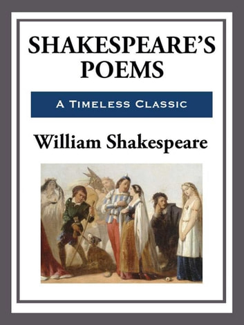 Shakespeare's Poems ebook by William Shakespeare