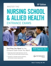Master the Nusing School & Allied Health Entrance Exams ebook by Marion