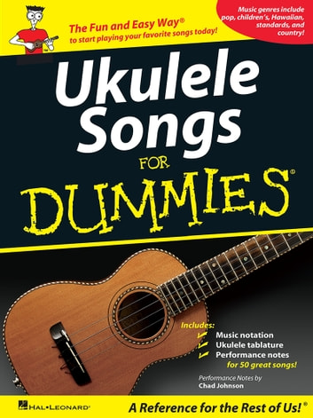 Ukulele Songs for Dummies (Songbook)