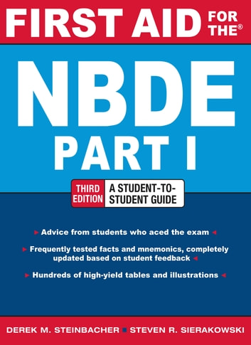 First Aid for the NBDE Part 1, Third Edition eBook by Derek M ...