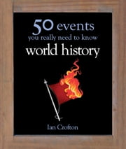 World History: 50 Key Milestones You Really Need to Know ebook by Ian Crofton