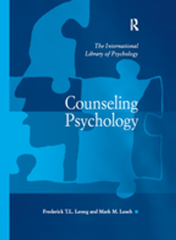 Counseling psychology ebook by mark m leach 9781351948258 counseling psychology ebook by mark m leach fandeluxe Images