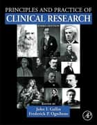 Principles and Practice of Clinical Research ebook by John I. Gallin,Frederick P Ognibene