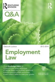 Q&A Employment Law 2013-2014 ebook by Deborah Lockton