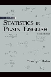 Statistics in Plain English ebook by Urdan, Timothy C.