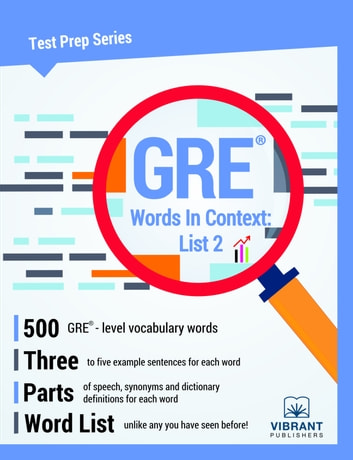 GRE Words In Context: List 2 ebook by Vibrant Publishers