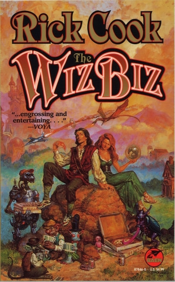 The Wiz Biz ebook by Rick Cook