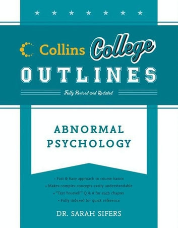 Abnormal Psychology ebook by Sarah Sifers