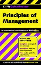 CliffsQuickReview Principles of Management ebook by Ellen Benowitz