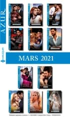 Pack mensuel Azur : 11 romans (Mars 2021) ebook by
