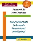 Using Facebook Friend Lists to Separate Personal and Professional ebook by Ann E Schutz