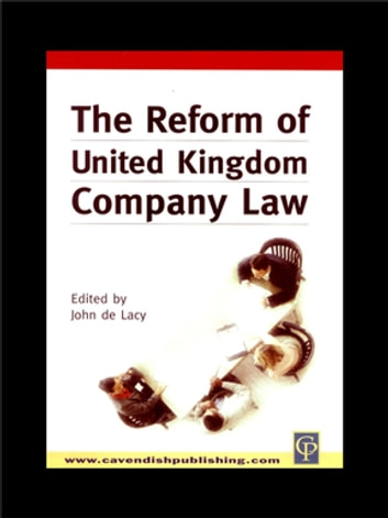 Reform of UK Company Law ebook by