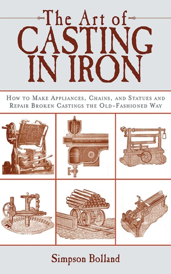 The Art of Casting in Iron: How to Make Appliances, Chains, and Statues and Repair Broken Castings the Old-Fashioned Way photo