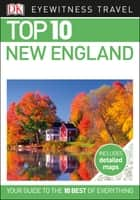 Top 10 New England ebook by DK Travel