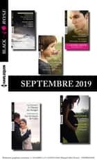 10 romans Black Rose + 1 gratuit (n°550 à 554 - Septembre 2019) ebook by Collectif