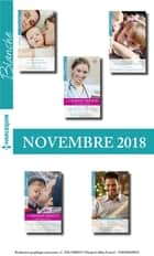 10 romans Blanche + 2 gratuits (n°1396 à 1400 - Novembre 2018) ebook by Collectif