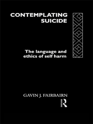 ethics and self harm