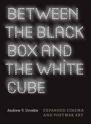 Between the Black Box and the White Cube - Expanded Cinema and Postwar Art ebook by Andrew V. Uroskie