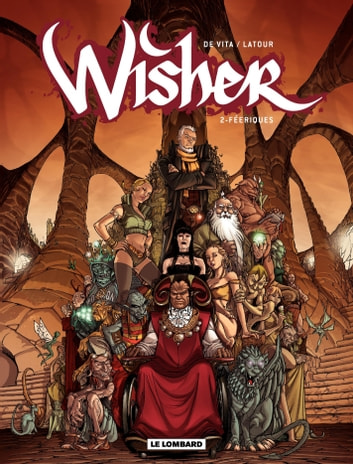 Wisher – tome 2 - Merlin ebook by Sébastien Latour