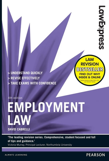 Law Express: Employment Law (Revision Guide) ebook by David Cabrelli