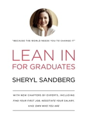 Lean In for Graduates ebook by Kobo.Web.Store.Products.Fields.ContributorFieldViewModel