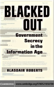 Blacked Out ebook by Roberts, Alasdair