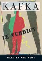 Le Verdict ebook by Franz Kafka