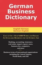 German Business Dictionary ebook by Morry Sofer