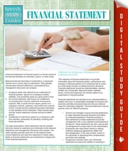 Financial Statements (Speedy Study Guides) ebook by Speedy Publishing