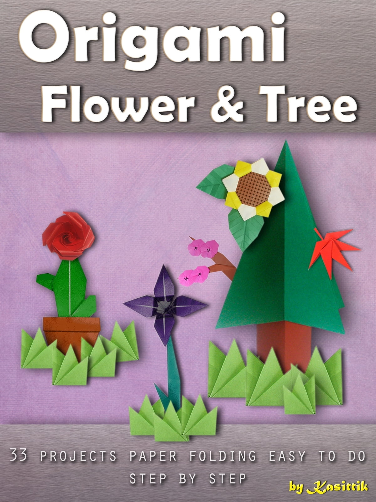Colors Paper: How to make lily Paper Flower - Origami Flowers for ... | 1600x1200