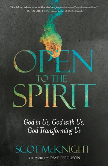 Open to the Spirit - God in Us, God with Us, God Transforming Us ebook by Scot McKnight