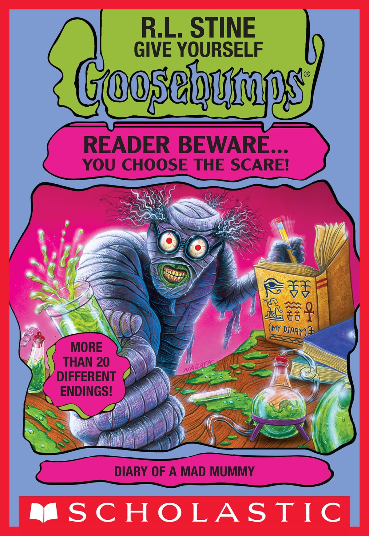 Give yourself goosebumps escape from the carnival of horrors give yourself goosebumps diary of a mad mummy ebook by rl stine fandeluxe Image collections