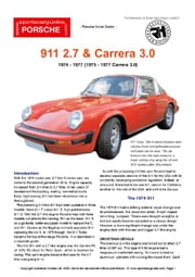 Porsche 911 2.7 Buyers' Guide ebook by Mellor, Chris
